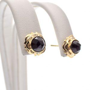 vintage gouden oorstekers