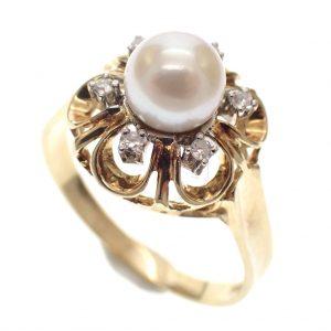 gouden ring vintage