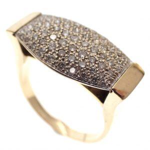 luxe gouden dames ring