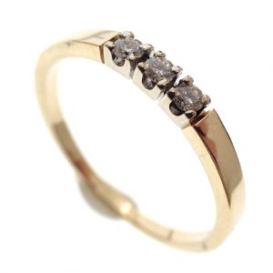 subtiele gouden ring