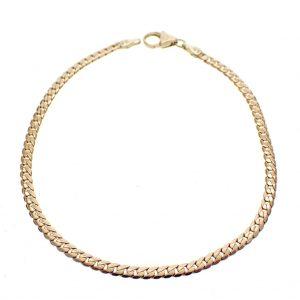 subtiele gouden armband