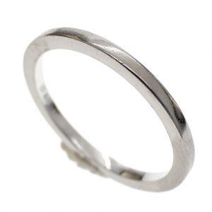 witgouden aanschuif ring