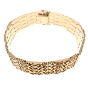 antieke dames armband goud